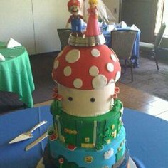 Mario wedding cake :)