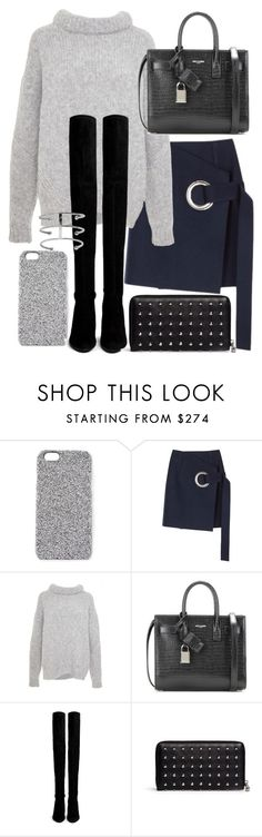"""""""Untitled #19439"""" by florencia95 ❤ liked on Polyvore featuring 2Me Style, Jacquemus, TIBI, Yves Saint Laurent, Stuart Weitzman, Alexander McQueen, women's clothing, women's fashion, women and female"""