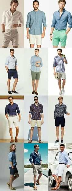 699a853d2f4 Cool Spring Summer ttends Mens Casual Summer Outfits