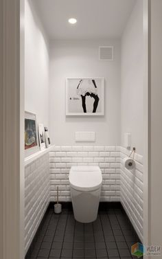 Scandinavian bathroom design ideas with white shades that you . - Scandinavian bathroom design ideas with white shades that you - Small White Bathrooms, Scandinavian Bathroom Design Ideas, Small Toilet Room, Shower Room, Small Bathroom, White Bathroom, Interior Remodel, Bathroom Inspiration, Downstairs Toilet