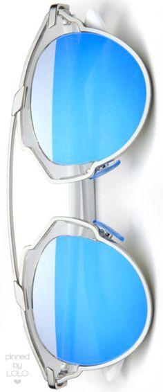 7f3c76cc3c86 Dior Soreal 48mm Round Mirrored Lens Sunglasses