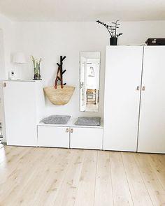 Ikea Hallway, Ikea Entryway, Walk In Closet Design, Ikea Bedroom, Entrance Hall, Room Inspiration, Kids Room, Sweet Home, Room Decor