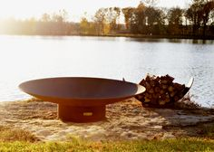"The Asia 60"" fire pit features a full view of the entire fire from any seating height or angle. Impressive and modern with a touch of Asia this classic timeless design this pit will be the attraction of the event. It is beautiful filled with wood on fire and it is a modern statue without a fire set in your  backyard where it catches every visitors eye."