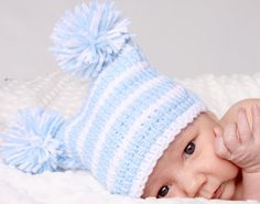 POPULAR Warm Baby Sack Hat Newborn 0 3m 6m Crochet Photo Prop Gift Blue White or Choice of Colors Baby Boy Girl Gift Gender Neutral - http://www.babies-clothes.info/popular-warm-baby-sack-hat-newborn-0-3m-6m-crochet-photo-prop-gift-blue-white-or-choice-of-colors-baby-boy-girl-gift-gender-neutral.html