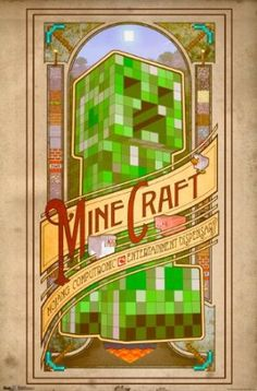 Amazon.com: Trends International Unframed Poster Prints, Minecraft Computronic: Home  Kitchen