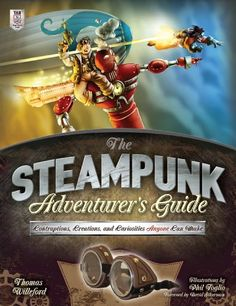 #Steampunk stalwart Thomas #Willeford cordially invites you on an adventure--one in which you get to build ingenious #devices of your own! Lavishly illustrated by award-winning cartoonist Phil #Foglio, The Steampunk Adventurer's Guide: #Contraptions, Creations, and Curiosities Anyone Can Make presents 10 intriguing #projects ideal for #makers of all ages and skill levels, woven into an epic tale of mystery and pursuit.