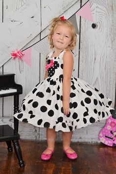 minnie mouse dress by SoSoHippo on Etsy, $48.00