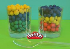 Surprise Rainbow Play Doh Dippin Dots Fun with a Toy inside MyCartoonTV
