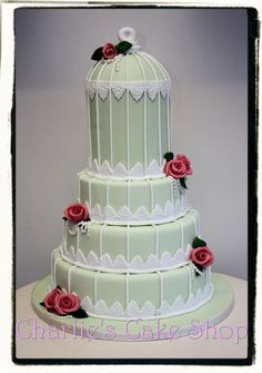 Vintage Birdcage Wedding Cake - Cake by Charlie Jacob-Gray