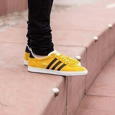 meet 32b5a dc839 The adidas Originals Gazelle OG Trainer in Super Yellow in store and online.