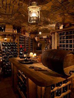 Wine room....