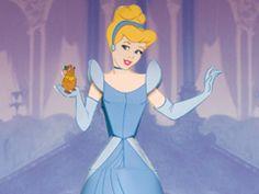 Foto della Principessa Cenerentola da costruire con la carta