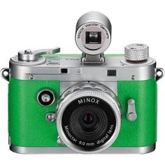 Minox DCC 5.1 Classic Digital Camera (Green) by Minox. $199.00. Designed in fascinating detail and with a sophisticated, stylish format, the Minox Digital Classic Camera DCC 5.1 is a true example of first-class German engineering from the fifties. Devotees of timeless elegance and precision mechanics will find it hard to resist the amazing look and feel of this small, ingenious masterpiece. The external look is a tribute to classic, legendary design. Inside, the Minox DCC ...