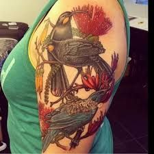 Image result for pohutukawa tattoo