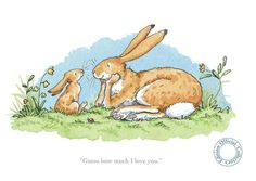 Anita Jeram GUESS HOW MUCH I LOVE YOU - Arthouse Gallery