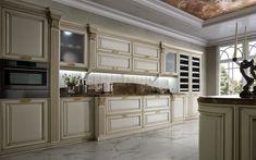 Kuchyňa CAVIAR - romantická klasika Kitchen Island, Kitchen Cabinets, Bratislava, Studio, Home Decor, Island Kitchen, Decoration Home, Room Decor, Cabinets