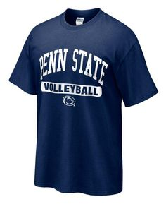 Penn State T-shirt with Volleyball Oval Print NAVY Penn State Volleyball 0e3616171