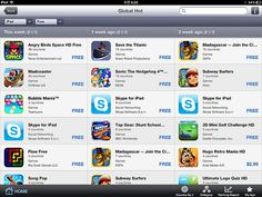 Global Hot app  from Smartranking App(iPad)