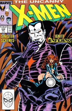 The Uncanny X-Men #239 (1981 series) - cover by Marc Silvestri