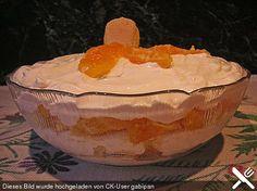 Mascarpone - Creme mit Orangen