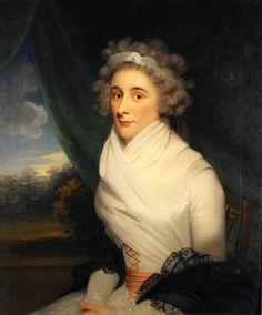 """Richard Cosway, R.A. (1742-1821), English """"Portrait of a Lady"""", Lady Elizabeth Foster, later Duchess of Devonshire, 18th century Oil on canvas La Salle University Art Museum"""