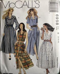Mccalls Sewing Patterns, Vintage Sewing Patterns, Clothing Patterns, Pattern Sewing, Retro Fashion, Vintage Fashion, Classic Fashion, Fashion Fashion, Spring Fashion