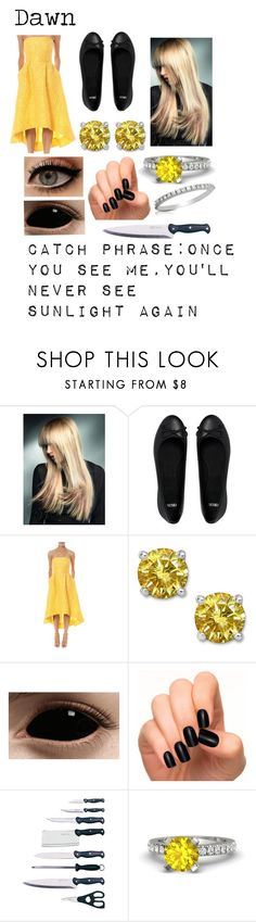 """""""Creepypasta (Oc)"""" by doodlebob3 ❤ liked on Polyvore featuring ASOS, ML Monique Lhuillier, Incoco, BergHOFF, Gemvara and Forzieri"""