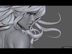 Ethereal Girl sculpt - YouTube