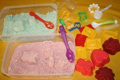Fabriquer du sable magique