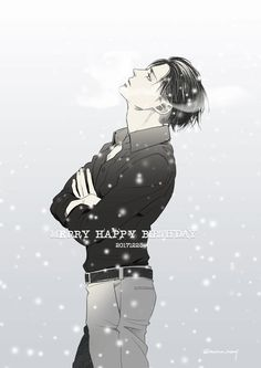Gorgeous Levi by ★苺野めり★ (posted with very kind permission. Please do not remove source or repost) Happy Birthday, Heichou!