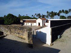 """Forte Orange"". aka ""Forte de Santa Cruz de Itamaracá"".  * Ilha de Itamaracá * # Estado de Pernambuco, Brasil."