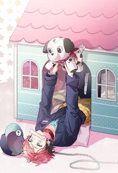 Red and black hair anime boy Manga Boy, Anime Manga, Anime Art, Neko Boy, Hot Anime Guys, Cute Anime Boy, Anime Boys, Anime Rules, Manga Games