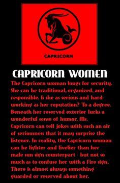 #Capricorn Women