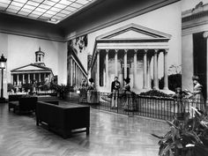 "The Metropolitan Museum of Art, Wing C, 2nd Floor, Gallery 25: ""Greek Revival in the United States,"" (November 10, 1943-February 29, 1944); View facing southwest. Photographed in 1943. Image © The Metropolitan Museum of Art"