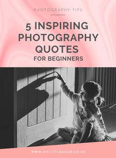 The internet is full of beginner photography tips for those looking to learn photography online. If it were simply down to getting the information, everyone would be able to take amazing photos all the time. But there's something more needed in order to improve: the motivation to commit to learning. Collecting inspiring quotes is something I love to do, so here are five of my favourite photography quotes for a little hit of inspiration. #motivationalquotes #creativeliving #photoquotes Dslr Photography Tips, Photography Pricing, Quotes About Photography, Photography Tips For Beginners, Photography Business, Photography Tutorials, Amazing Photography, Learn Photography, Cool Photos