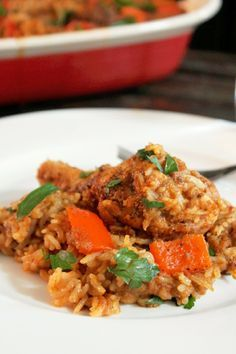 Creole Contessa: Arroz Con Pollo (Rice with Chicken)