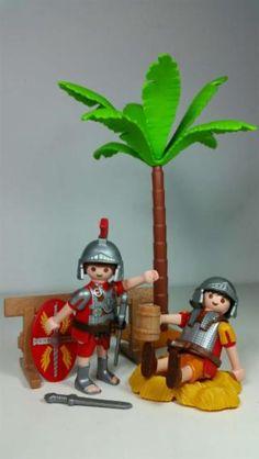 Playmobil escena de romanos belen