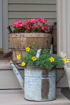Porch decor with charm