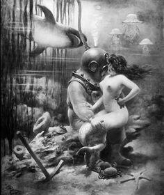 Ah..the perils of underwater sex..