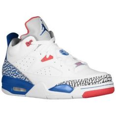 half off ba01c ac85a Jordan Son of Mars Low - Men s - Basketball - Shoes - White True Blue Gym  Red Cement Grey