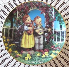 M.I. Hummel LITTLE MUSICIANS Companions Series Collectors Plate Danbury MINT