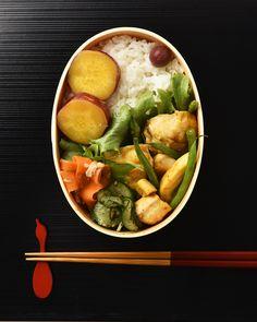 鶏肉と筍のカレー炒め弁当 / Curry-Flavored Chicken and Bamboo Shoots Bento お弁当を作ったら #edit_jp で投稿してね!
