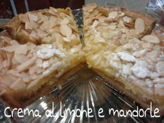 Crema al limone e mandorle #pasticceriasumisura #Lecco