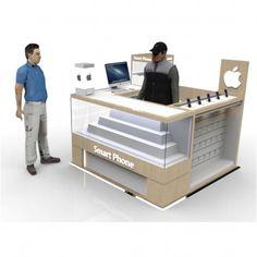 Kiosk Design, Booth Design, Mobile Shop Design, Mobile Kiosk, Mall Kiosk, Cell Phone Store, Mobile Phone Shops, Store Counter, Counter Design