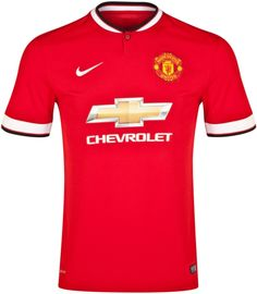 New Man U Jersey 2014/2015 - ruined by the Chevrolet logo