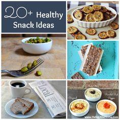 20+ Healthy Snack Ideas   Hello Little Home