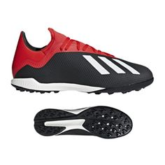 3a7269718e0d1 adidas X Tango 18.3 Turf Soccer Shoes (Core Black Active Red)    SoccerEvolution