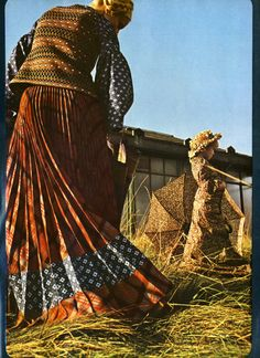 All clothes by Bill Gibb. Photography Sarah Moon. Vogue, January 1970