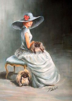 A must have print for all Peke lovers!