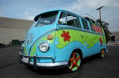 Mystery Machine Van | Southern California's Premier Car & Truck Customizer - G.A.S. - Galpin Auto Sports